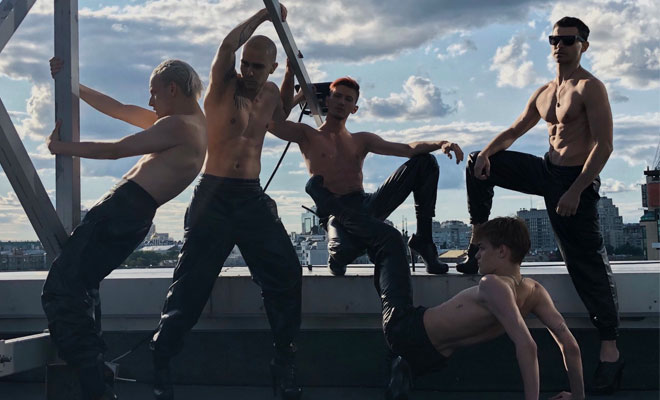 "Ukrainian Boyband Kazaky Drops Pride Anthem, ""Fucking Beautiful"""