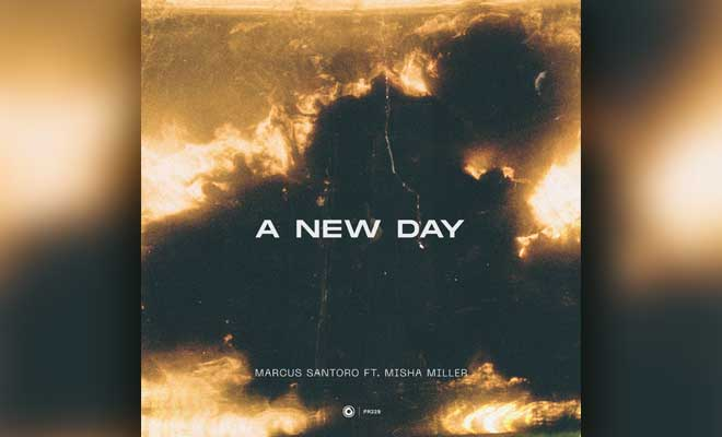 "vocal house single ""A New Day"" by Marcus Santoro"