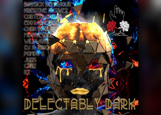 house music compilation album Delectably Dark