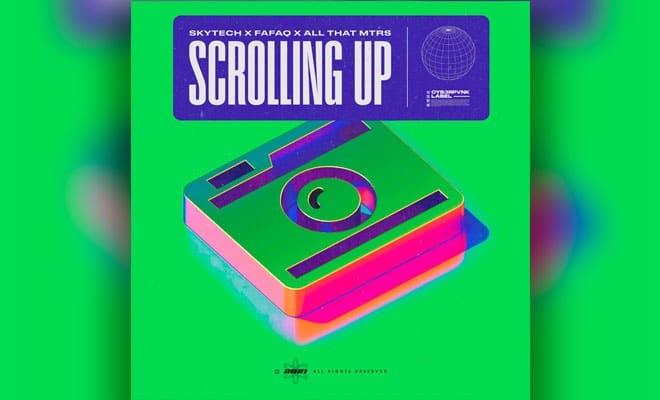 "tech-house single ""Scrolling Up"""